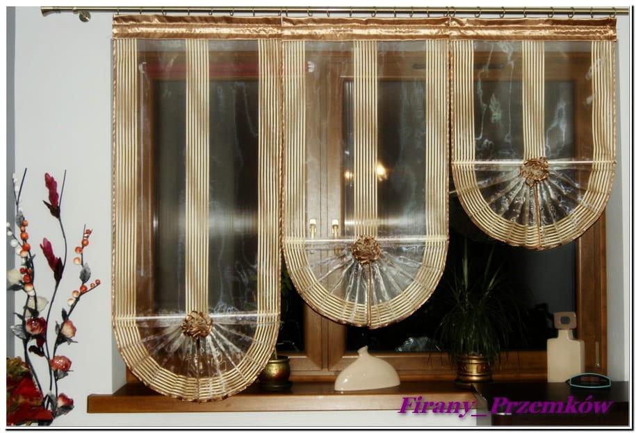Firany Organtyna Wachlarze Panele Balkon